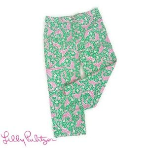 Lilly Pulitzer Dolphin Print Capris